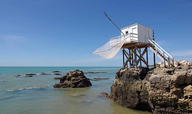 cabana de pesca - estuário imagens e fotografias de stock
