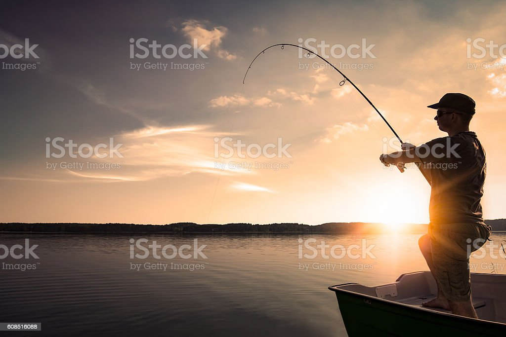 Fishing concepts. stock photo
