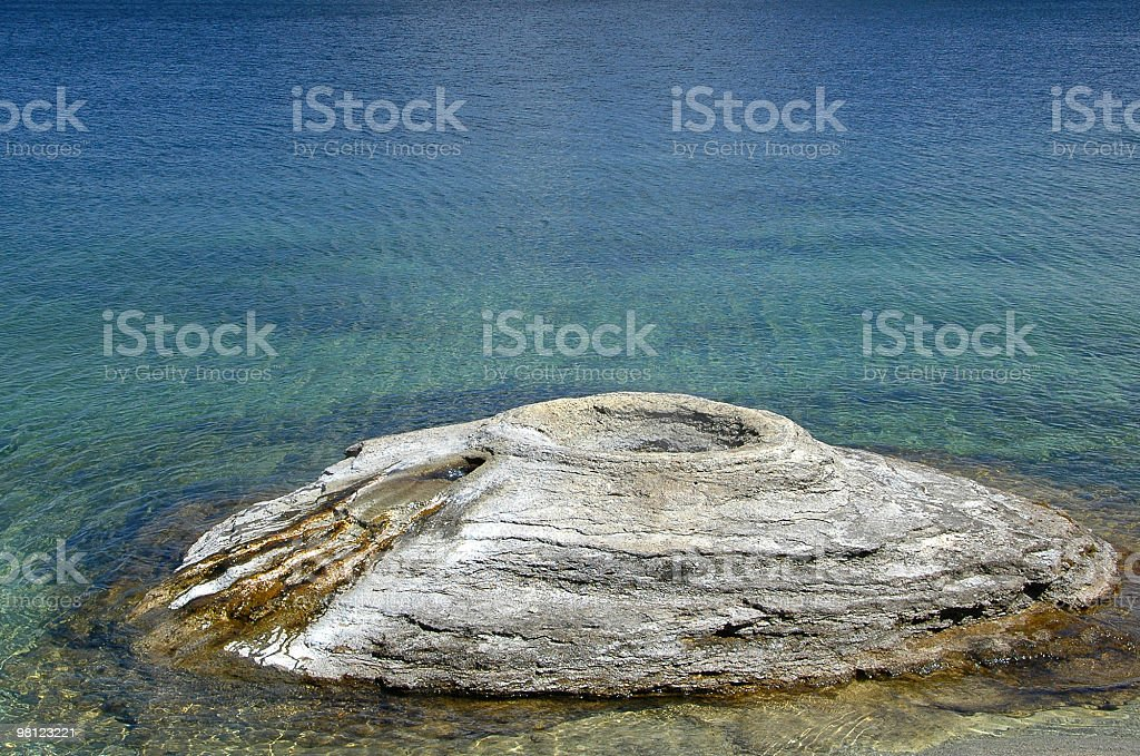 Fishing Cone Geyser royalty-free stock photo