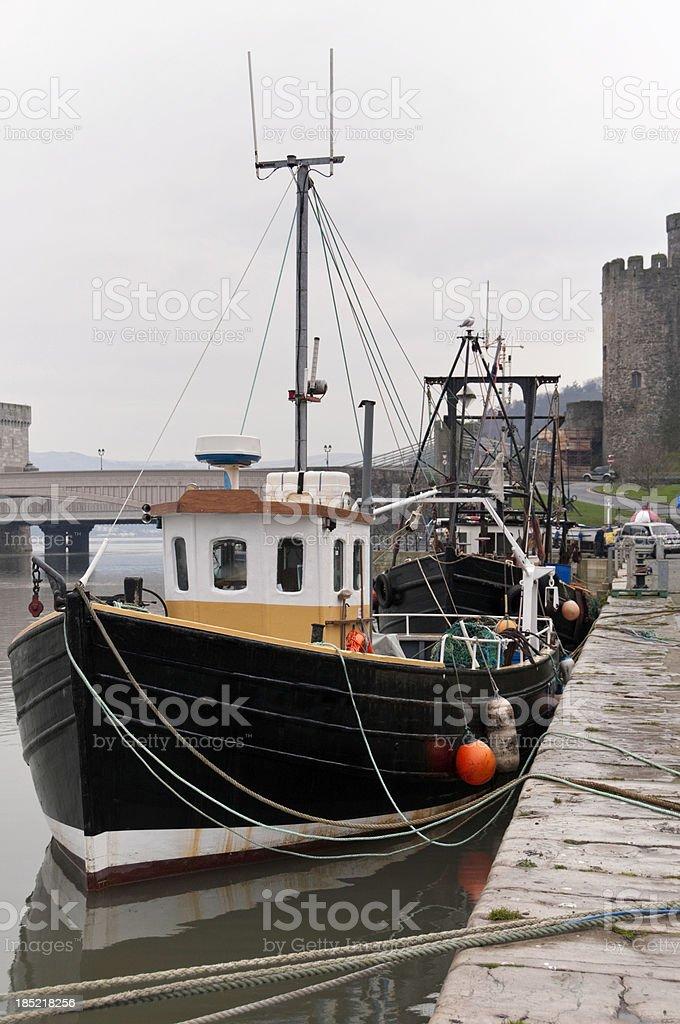 Fishing Fleet stock photo