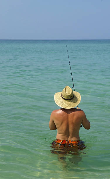 Royalty Free Nude Fishing Pictures, Images and Stock