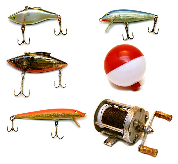 Fishing Gear (XL Filte)  fishing reel stock pictures, royalty-free photos & images