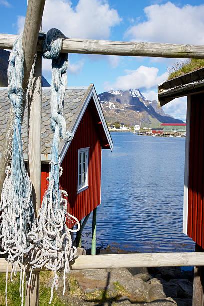 Cabanas de pesca - foto de acervo