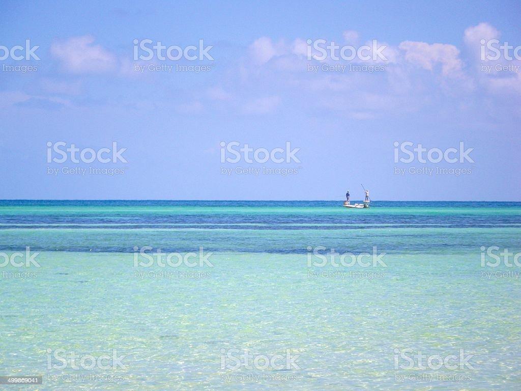 Fishing in the Keys stock photo