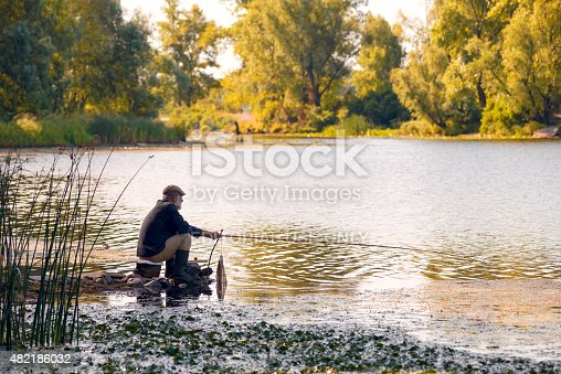 1030273092 istock photo Fishing in the River 482186032