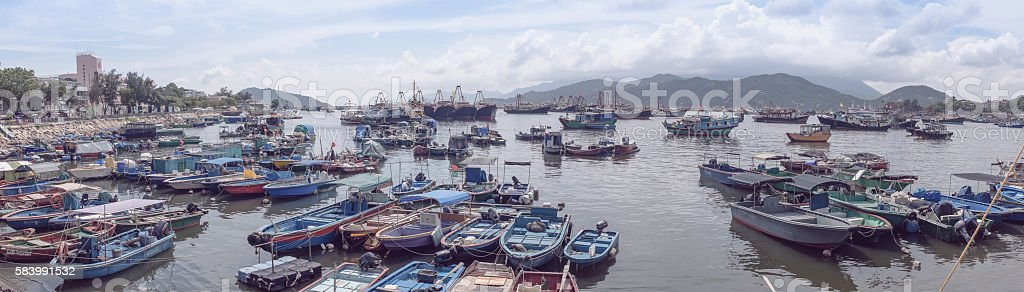 FIshing industry stock photo