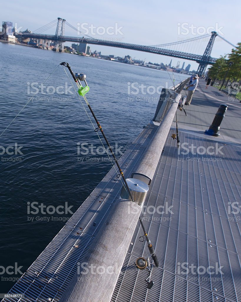 Fishing line Lizenzfreies stock-foto