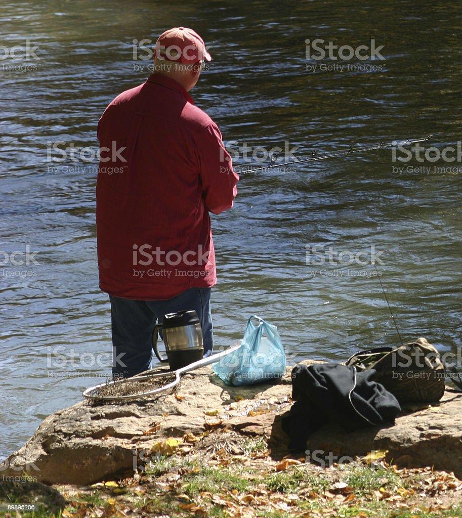 Рыбацкая-человек's любимые прошлом! Стоковые фото Стоковая фотография