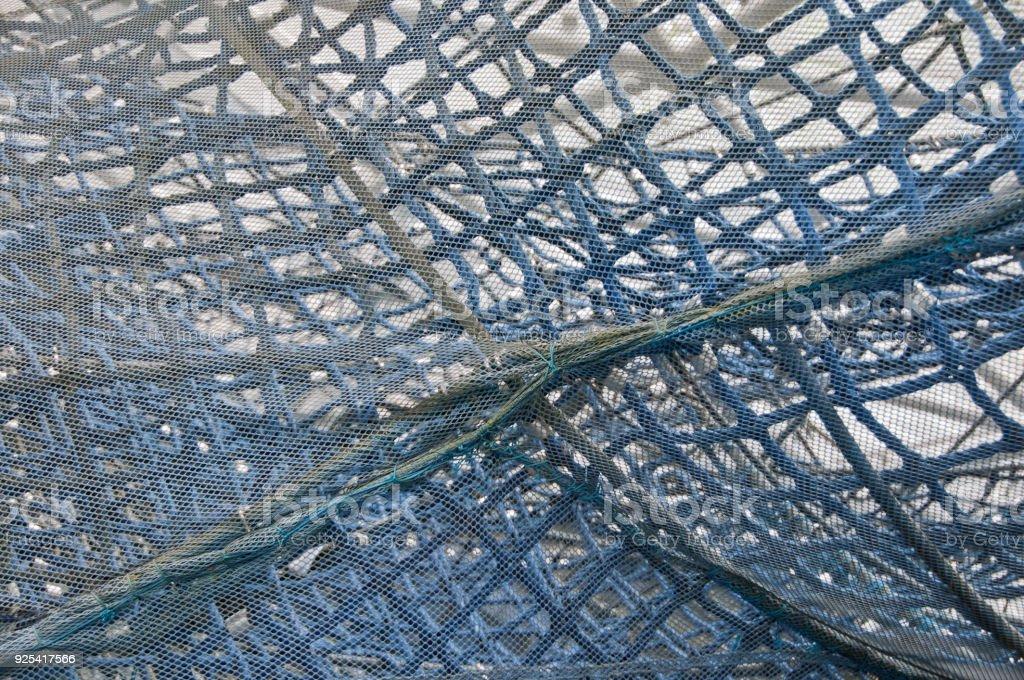 Angeln Netz als Hintergrund – Foto