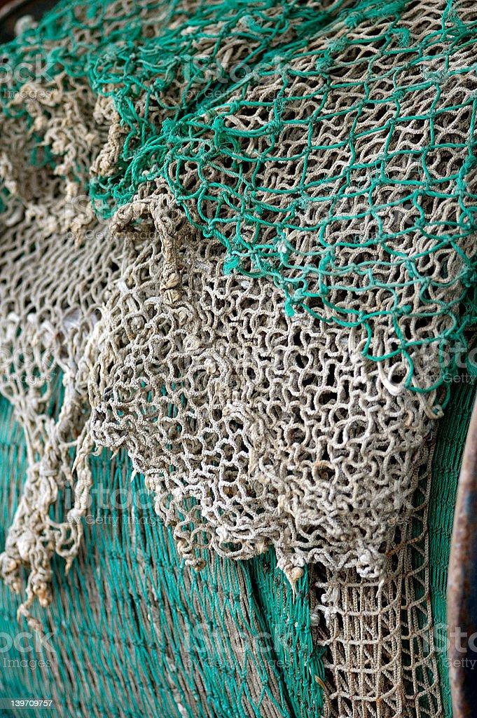 Fishing Net 2 royalty-free stock photo