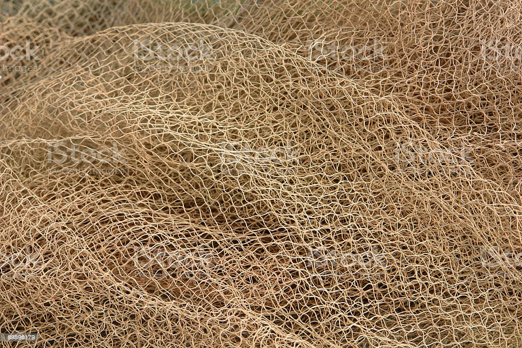 Fishing Net Pattern royalty-free stock photo