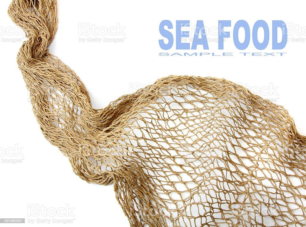 Fischnetz. – Foto