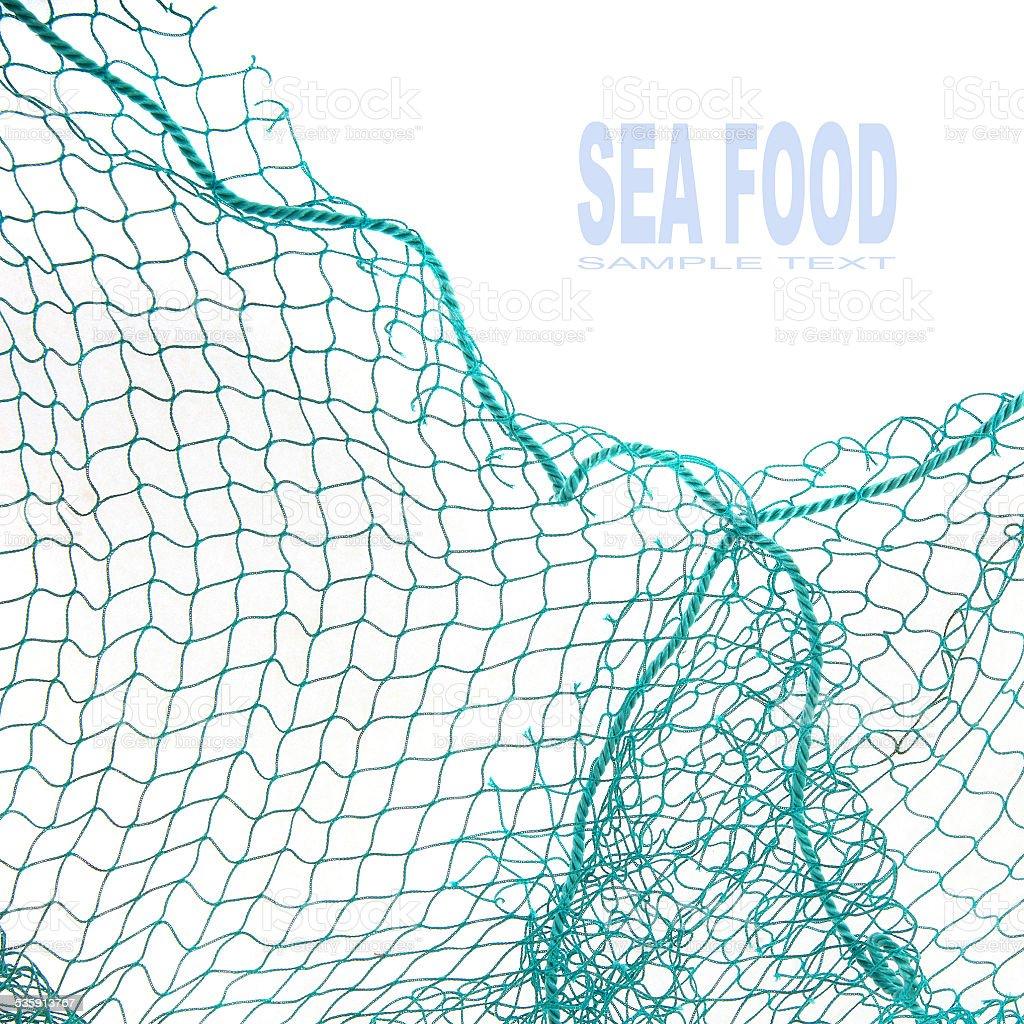 Fishing net. stock photo