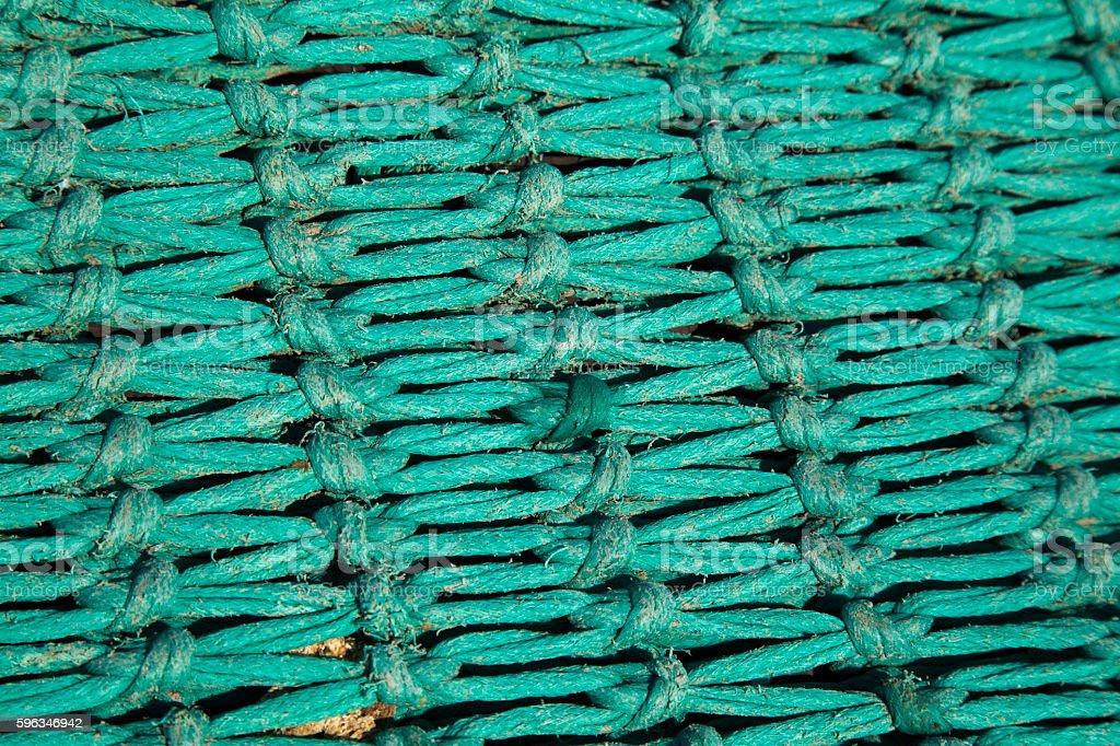 Fischereinetz  Lizenzfreies stock-foto