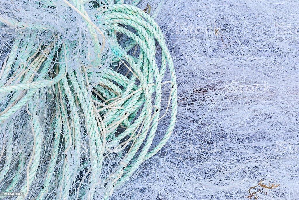 Rede de pesca  foto royalty-free