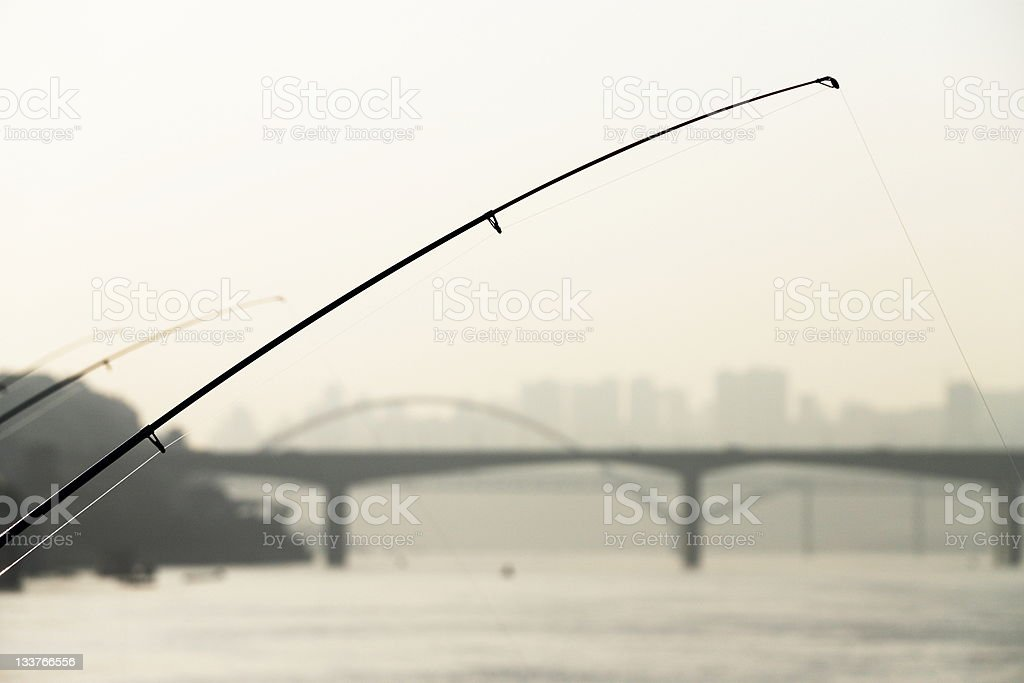fishing royalty-free stock photo