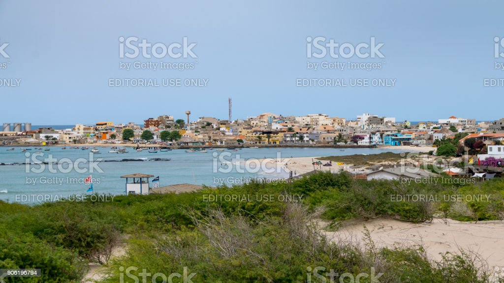 Fishing port capital of Boa Vista - foto stock