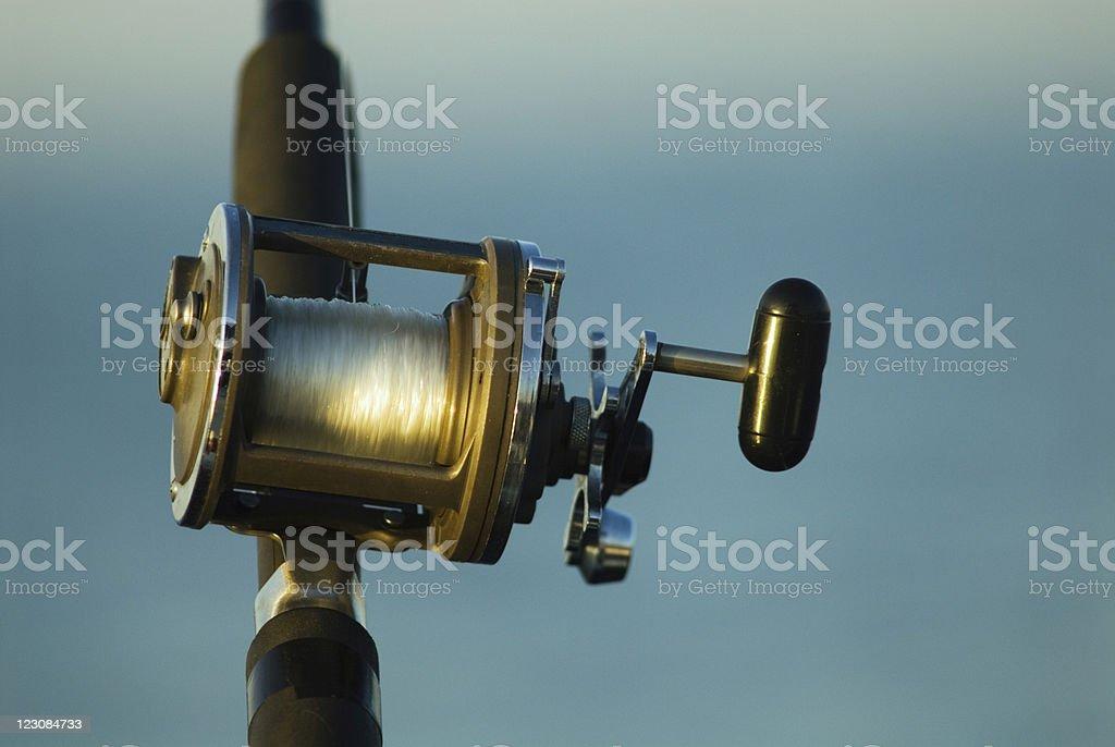 Fishing Reel 1 royalty-free stock photo