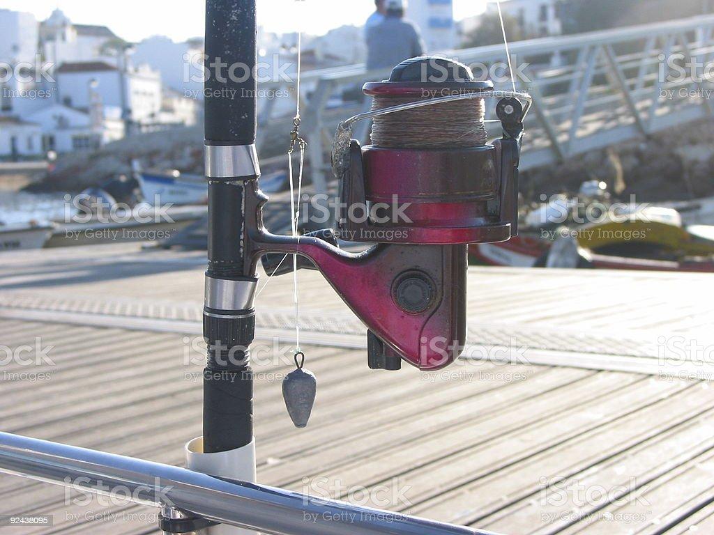 Fishing Reel 2 royalty-free stock photo