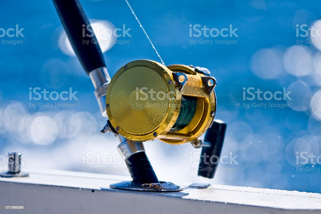 Fishing Reel royalty-free stock photo