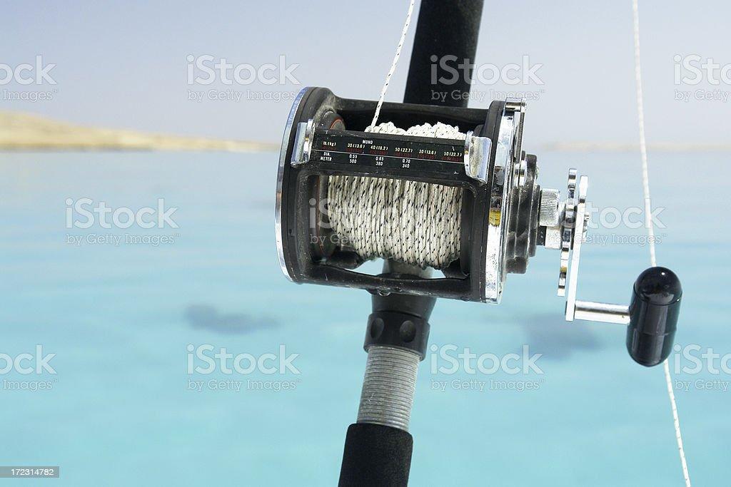 Fishing Reel royalty-free stock photo