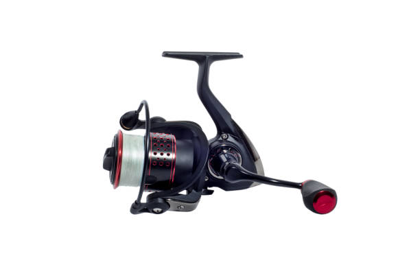 Fishing Reels Fishing Reels fishing reel stock pictures, royalty-free photos & images