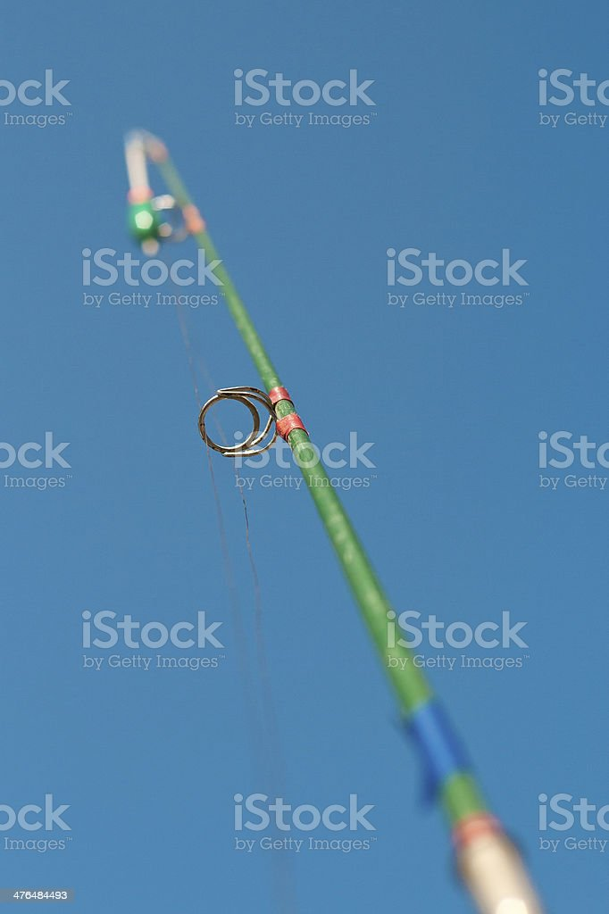 Fishing Rod Detail royalty-free stock photo