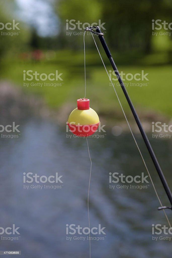 Fishing Rod royalty-free stock photo