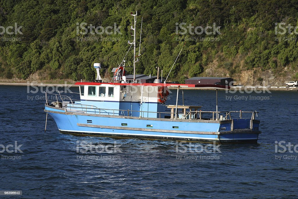 Fishing ship royalty-free stock photo