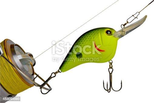 864720746 istock photo Fishing tackle 453094593