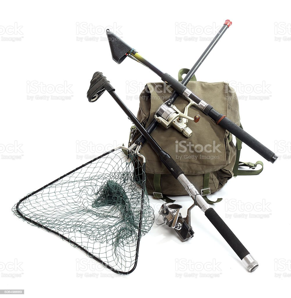 Fishing tackle. stock photo