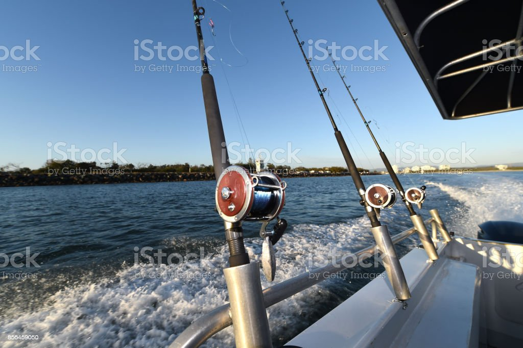 Fishing Trip stock photo