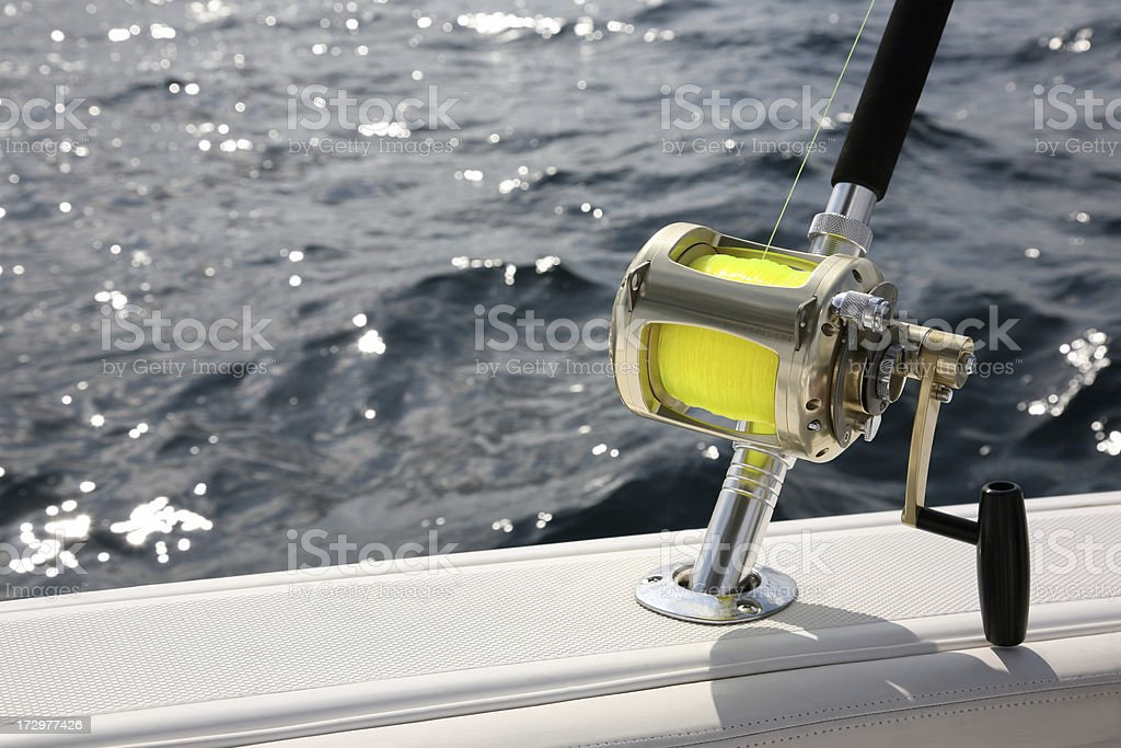Fishing Vacation royalty-free stock photo