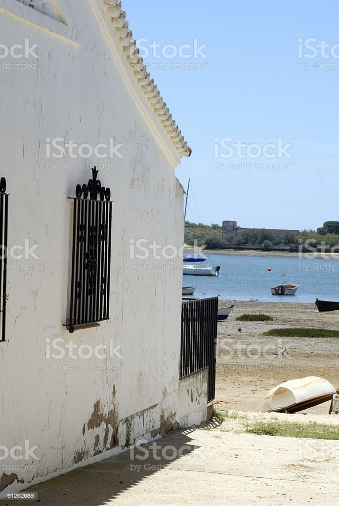 Fishing villa royalty-free stock photo