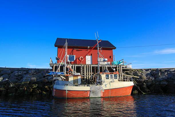 Aldeia de pescadores - foto de acervo