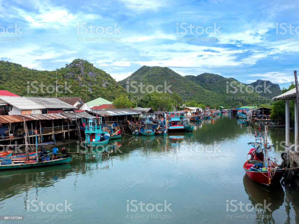 Fishing Village Stock Photo Download Image Now Istock