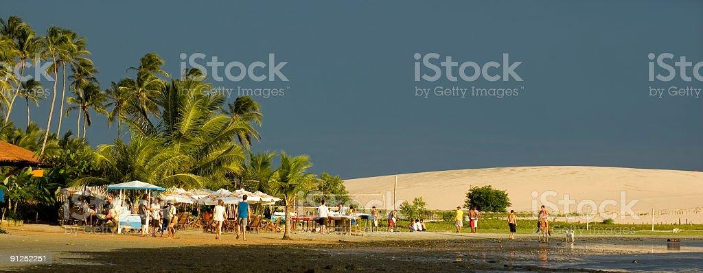 Fishing Village royalty-free stock photo