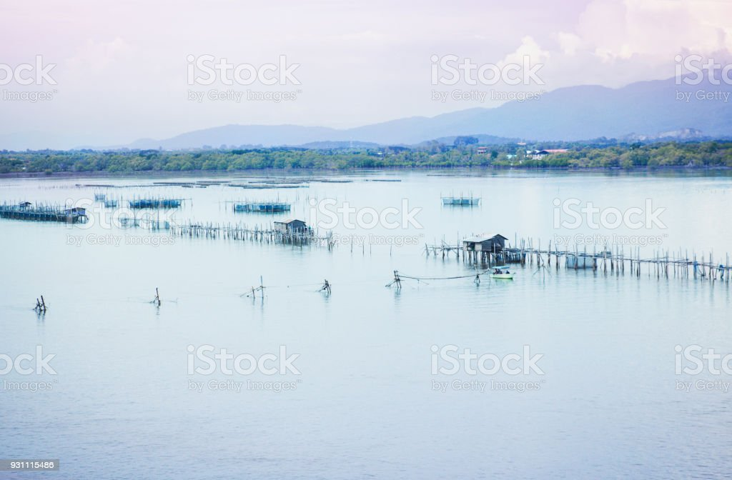 Balıkçı köyü - Royalty-free Balıkçı Stok görsel