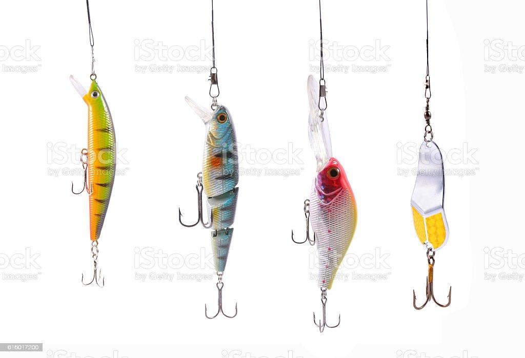 fishing wobblers - foto stock
