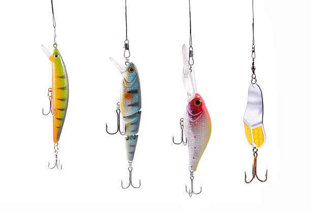 fishing wobblers - foto stock