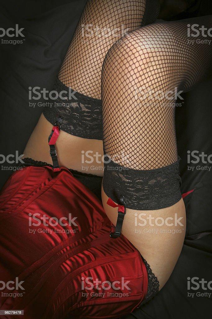 fishnets royalty-free stock photo