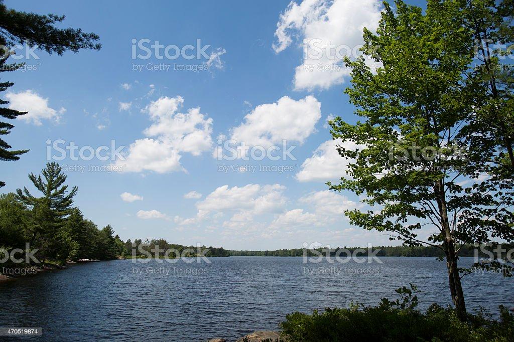 Fishog Lake stock photo