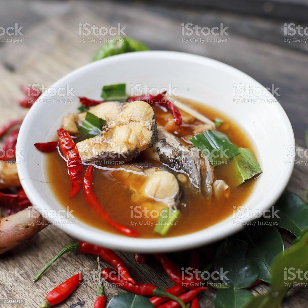 Fishsoup stock photo