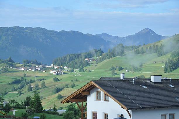 fiss, österreich - fiss tirol stock-fotos und bilder