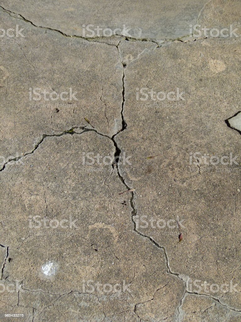 Fissure royalty-free stock photo
