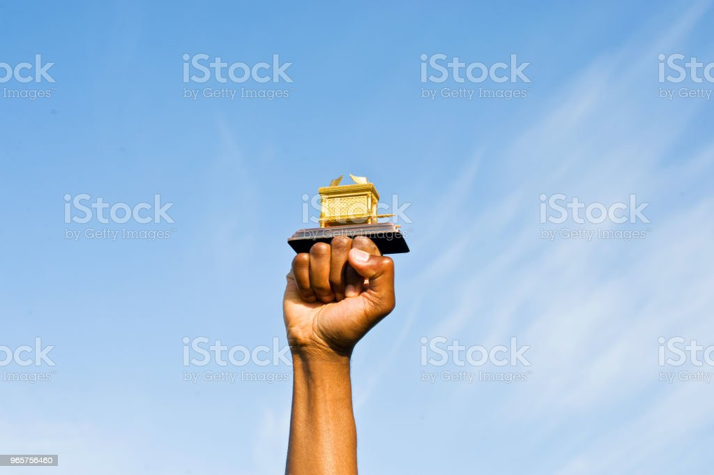 Fist Hold Up The Ark Of The Covenant - Royalty-free African Ethnicity Stock Photo