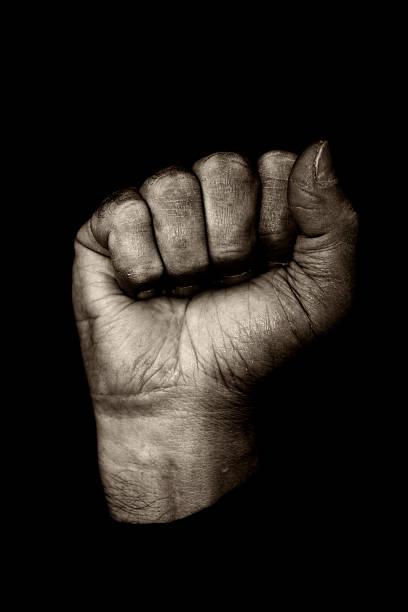 Fist stock photo