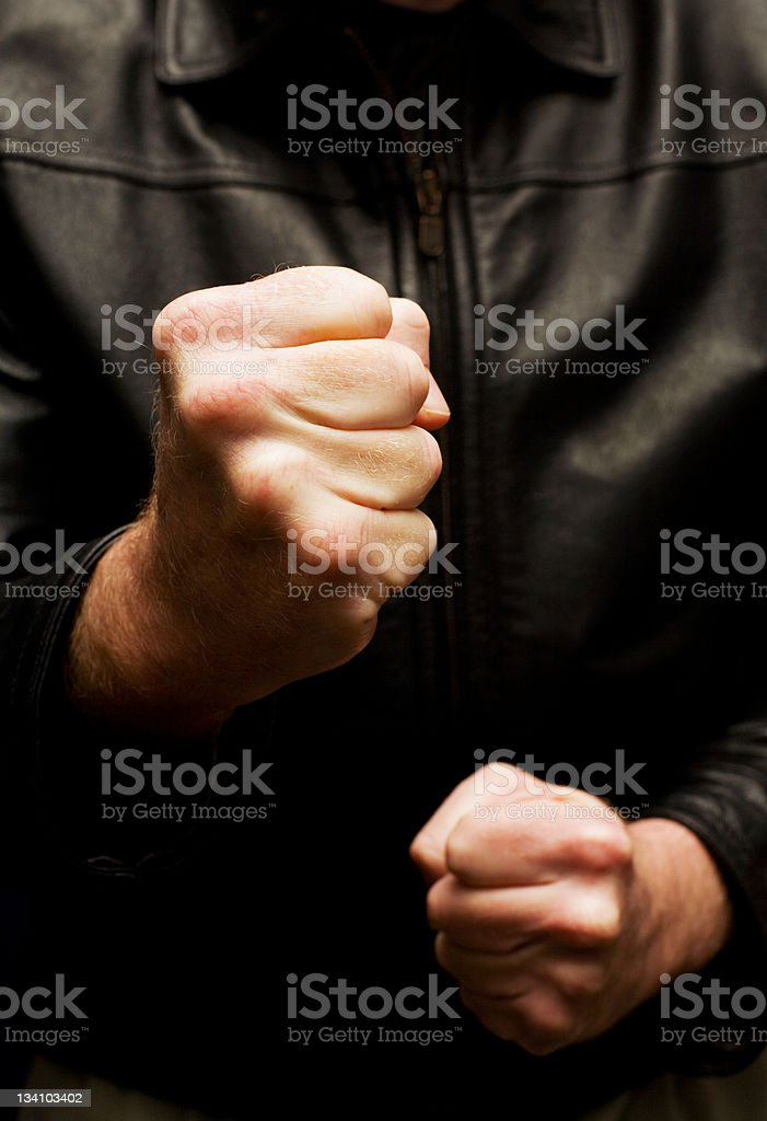 Fists stock photo