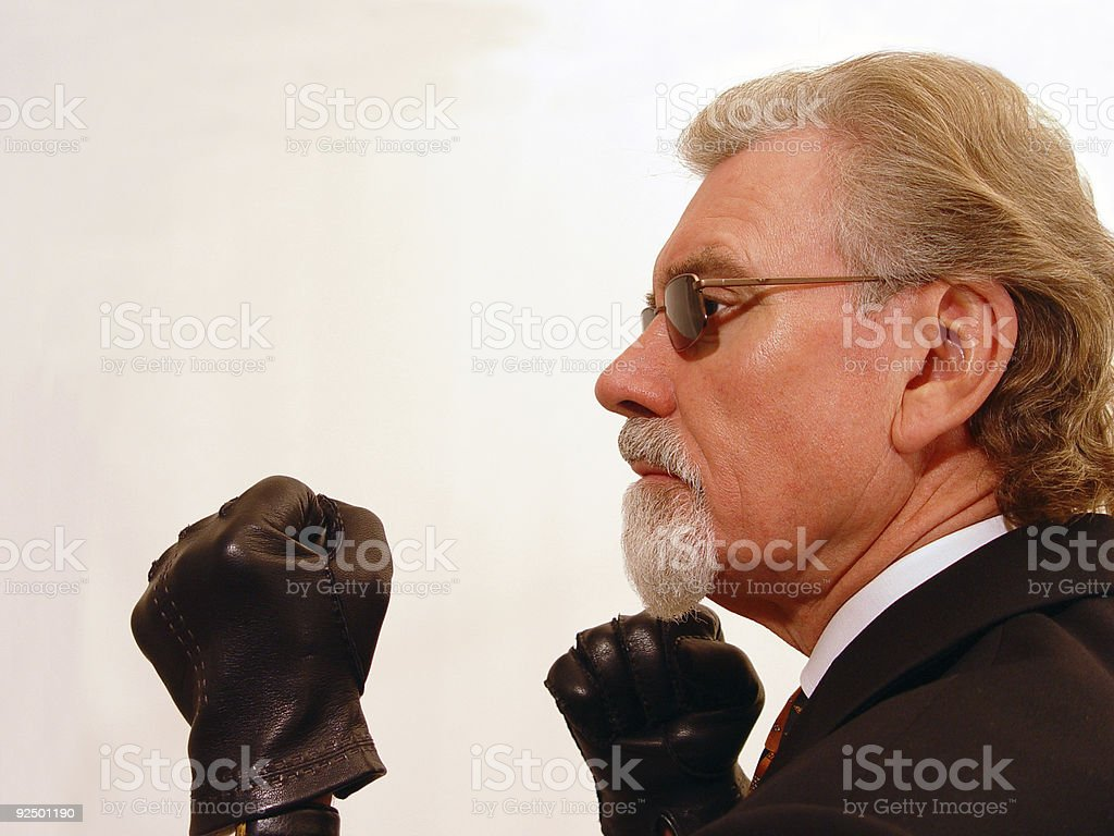 Fists stock photo