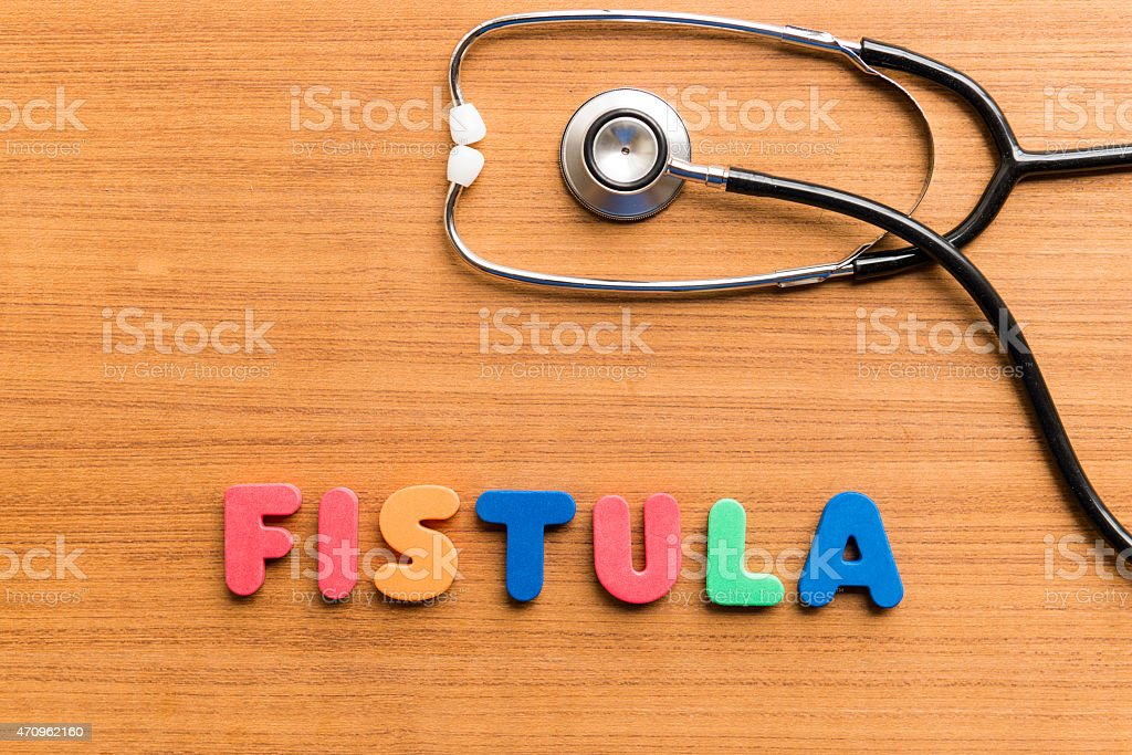 fistula stock photo